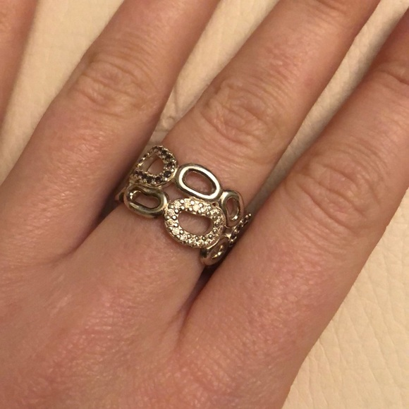Pandora Jewelry Authentic Circle Of Friends Ring Size 6
